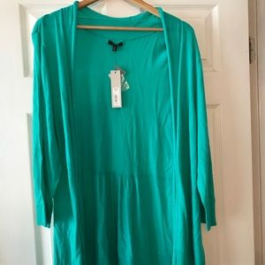 Turquoise Fly Away Cardigan
